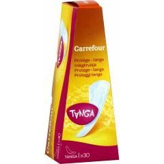 Protej-slip tanga Carrefour, 30 buc