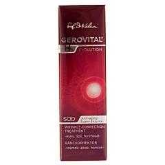 Tratament corector riduri pentru ochi, buze si frunte Gerovital H3 Evolution 15ml