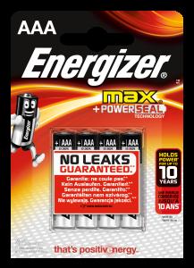 Set x 2 baterii Energizer Max Alkaline Power E92 LR03