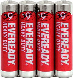 Set x 4 baterii Energizer Eveready HD R03