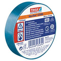Banda electroizolatoare 20MX19MM, albastru, Tesa