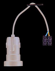 Fasung de iluminat E27 0.1 m H03VV-F 2x0,75 cu sir clema, max 60W