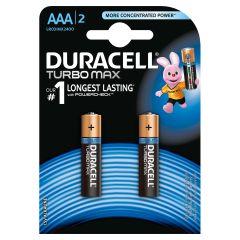 Set x 2 baterii AAA LR03 Turbo Max, Duracell