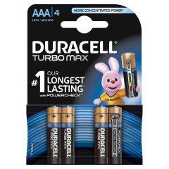 Set x 4 baterii AAA LR03 Turbo Max, Duracell