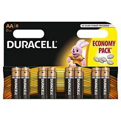 Set x 8 baterii AA Basic, Duracell