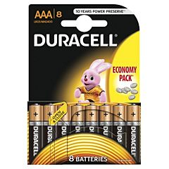 Set x 8 baterii AAA LR03, Duracell
