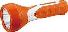 Lanterna reincarcabila LED cu acumulator Erste, autonomie 1-4 ore, 70 x 170 mm, Portocaliu/Alb