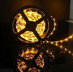 Banda LED pentru iluminat exterior Flink, cu autoadeziv, 60 led-uri/ml, putere 4.8W/ml, flux 180lm/ml, rola 5 m, Alb