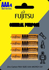 Set 4 baterii AAA CZ R3/4, Fujitsu