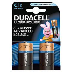 Set x 2 baterii C LR14 Ultra Power, Duracell