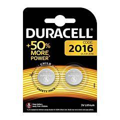 Set x 2 baterii DL/CR 2016, Duracell