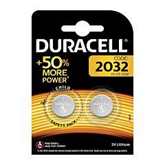 Set x 2 baterii DL/CR 2032, Duracell