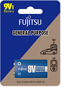 Baterie CZ 9V, Fujitsu