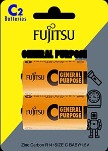 Set 2 baterii CZ R14, Fujitsu