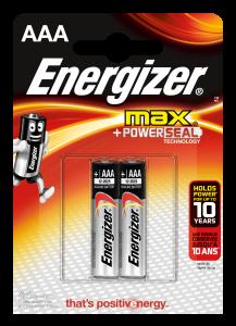 Set x 2 baterii Energizer Max Alkaline Power E92 LR3