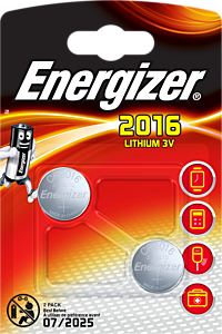 Set x 2 baterii Special Energizer CR2016