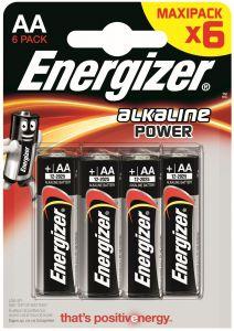 Set x 6 baterii Energizer Alkaline Power E91 LR6
