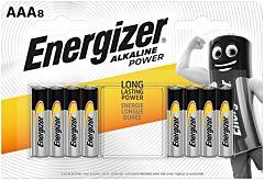 Set 8 baterii Energizer Alcaline Power R03/AAA