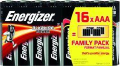 Set x 16 baterii Energizer Alkaline Power E92 LR3