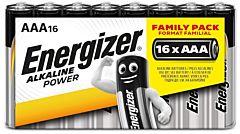 Set 16 baterii Energizer Alcaline Power R03/AAA