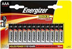 Baterie alcalina Energizer Max R3, 12 la pret de 8