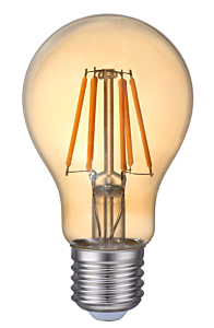 Bec LED A60 FIL 8W E27 AURIU LC