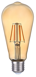 Bec LED FIL ST64 6W E27 AURI LC