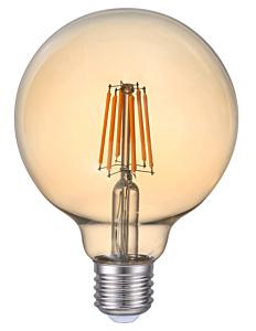 Bec LED FIL G95 6W E27 AURIU LC