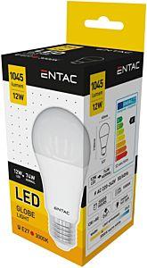 Bec LED Entac tip glob, E27, 12W, 1045 lumeni