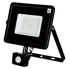 Proiector senzor slim LED10W, negru, Novelite