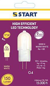 Bec interior LED PIN G4 Start, 2 W, 150 lm