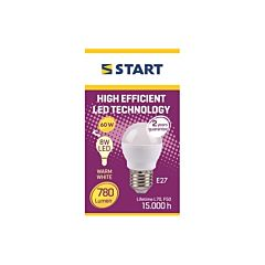 Bec LED MAT Start, CL B (C45), 8 W, E27, 780 lm