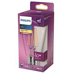 Bec LED classic Philips, 60W, ST64, E27, 2700K