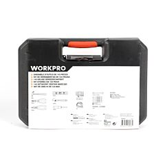Set de unelte WorkPro, 143 piese