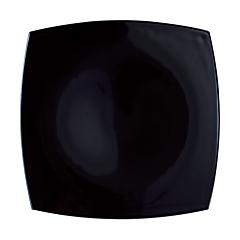 Farfurie intinsa 26 cm Delice, opal, negru, Luminarc