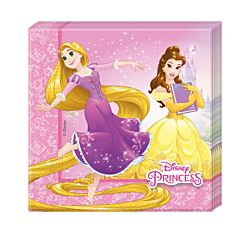 Set 20 servetele party Princess, 33 x 33 cm