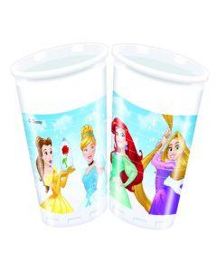 Set 8 pahare 200 ml party Princess
