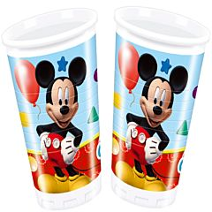 Set 8 pahare 200 ml party Mickey