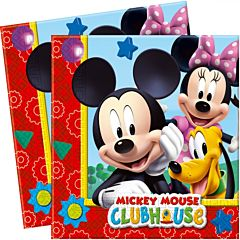Set 20 servetele party Mickey, 33 x 33 cm