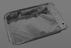 Tava de unica folosinta din aluminiu, set 2 bucati, 21.5x32 cm