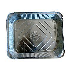 Tava aluminiu 29.8x23.8x4.1cm, set 2 buc.