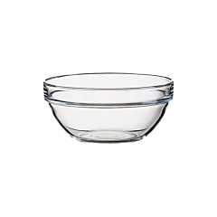 Bol 10 cm suprapozabil sticla transparent, Luminarc