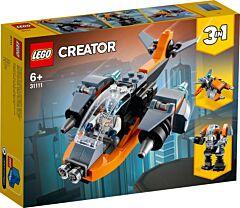 LEGO Creator 3 in 1 Drona Cibernetica 31111