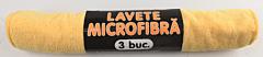 Lavete microfibra Duratex, 30x35cm, 3 buc
