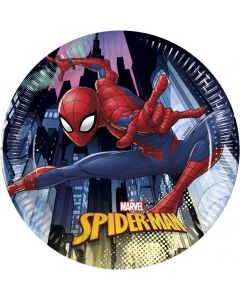 Set 8 farfurii party 20 cm Spiderman