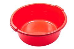 Lighean rotund, capacitate 17L, culoare rosu, Cyclops