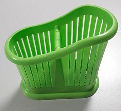 Uscator tacamuri 2 sectii, verde