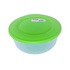 Cutie alimente rotunda, capacitate 1.7L, culoare verde, Cyclops