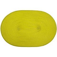 Suport oval 30x45 cm, verde