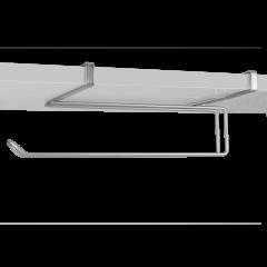 Suport rola hartie pentru usa dulap sau etajera 35x18x10 cm